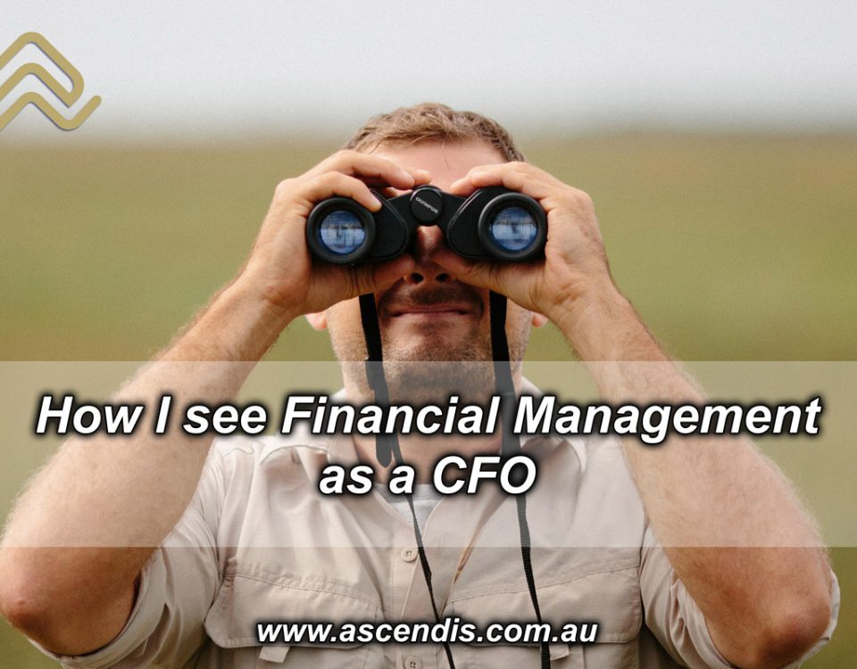 How I see financial management as a CFO